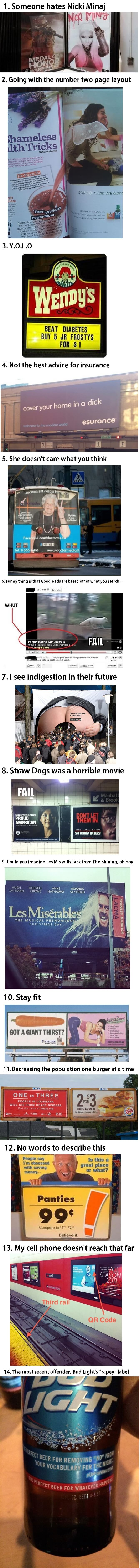 advertising fails that will make you do a double take
