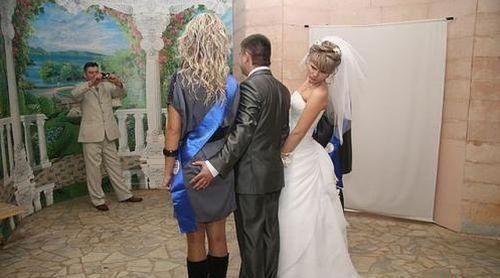 hilarious wedding photo fails 2