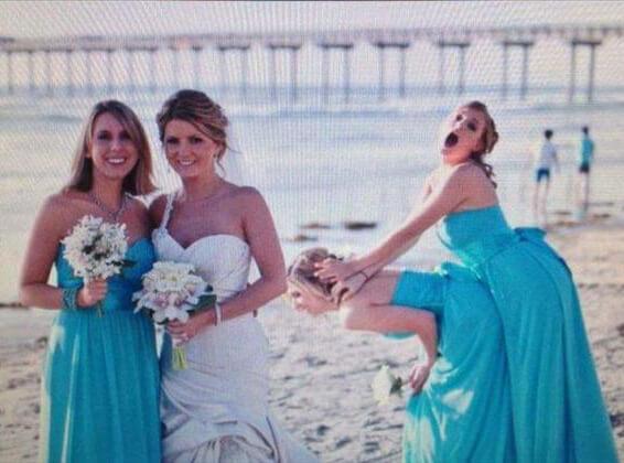 hilarious wedding photo fails 9