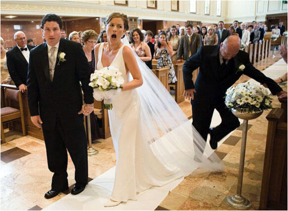 the most hilarious wedding photos ever 1