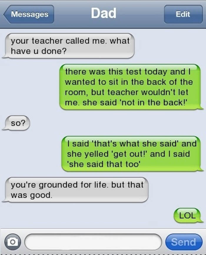 hilariously creative text replies 5