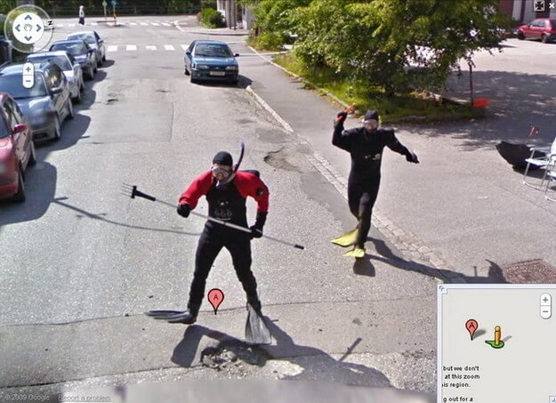 hilarious images caught on google maps street view 12