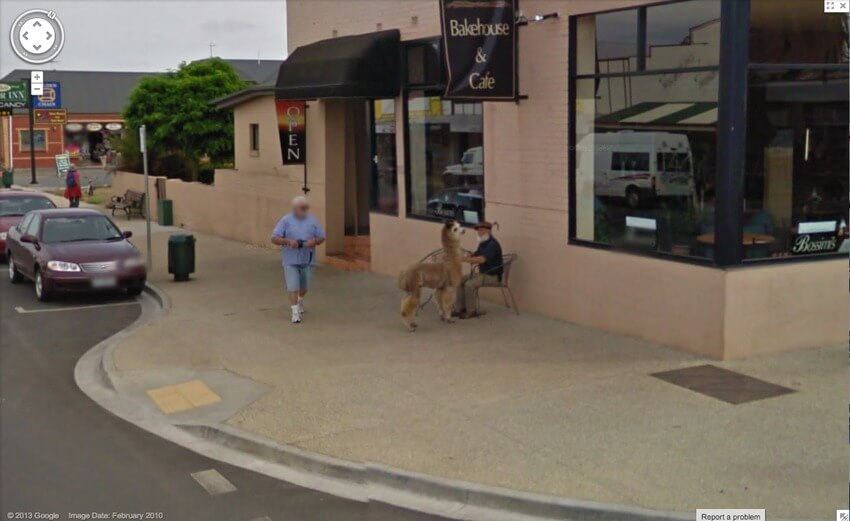 hilarious images caught on google maps street view 16