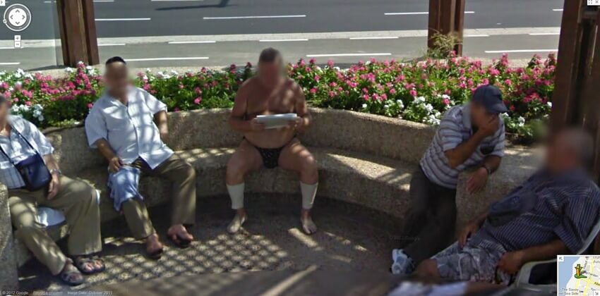 hilarious images caught on google maps street view 18
