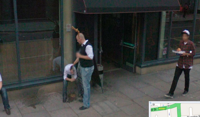hilarious images caught on google maps street view 20