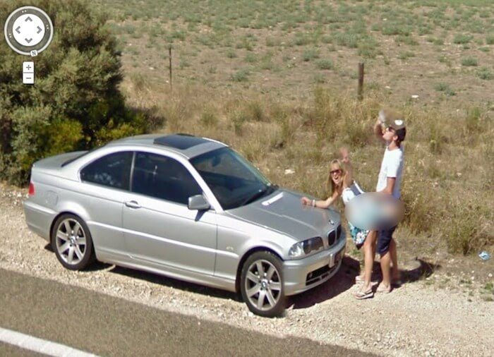 hilarious images caught on google maps street view 21