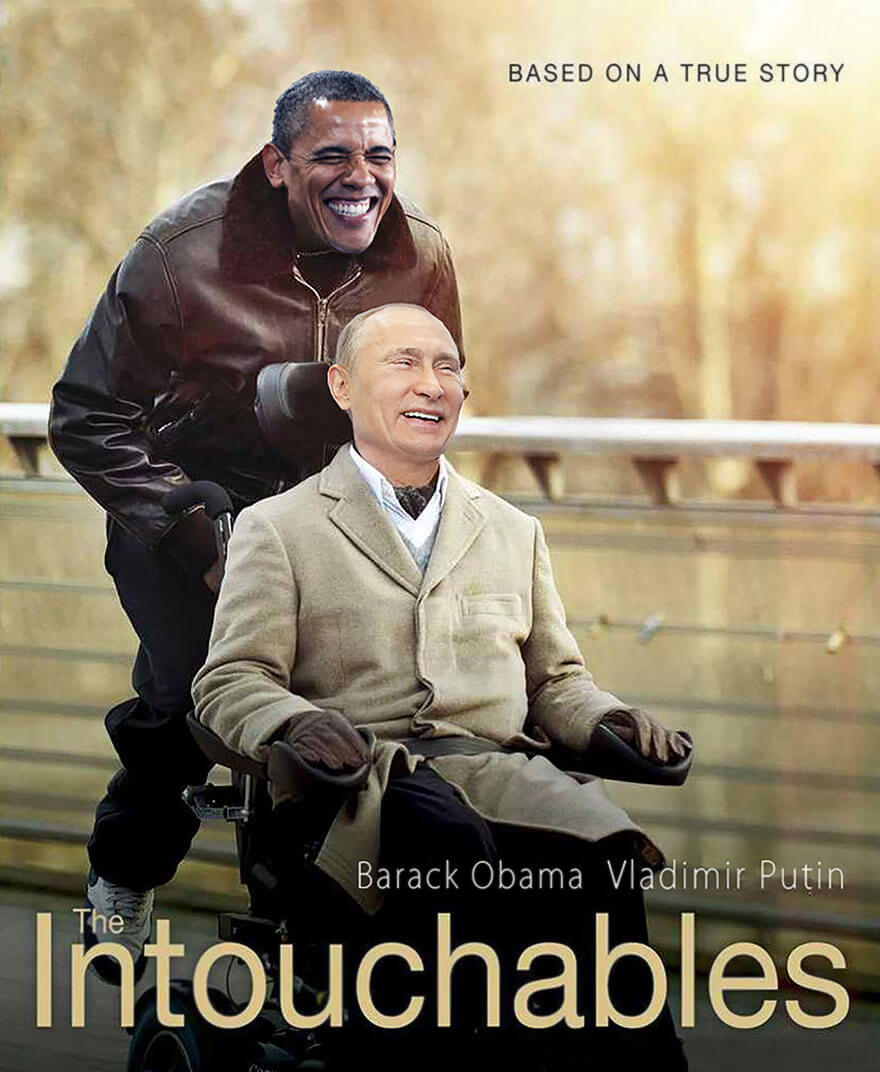 obama merkel putin famous movies 3