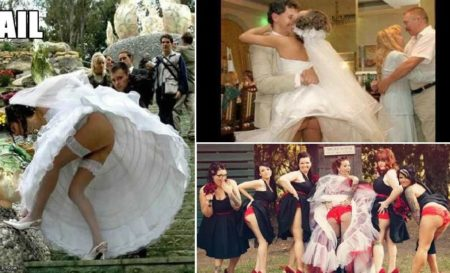 Hilarious Wedding Photo Fails