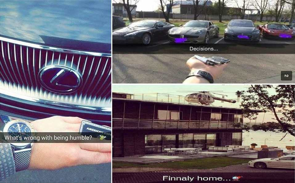 The Rich Kids Of Snapchat Are Really Obnoxious