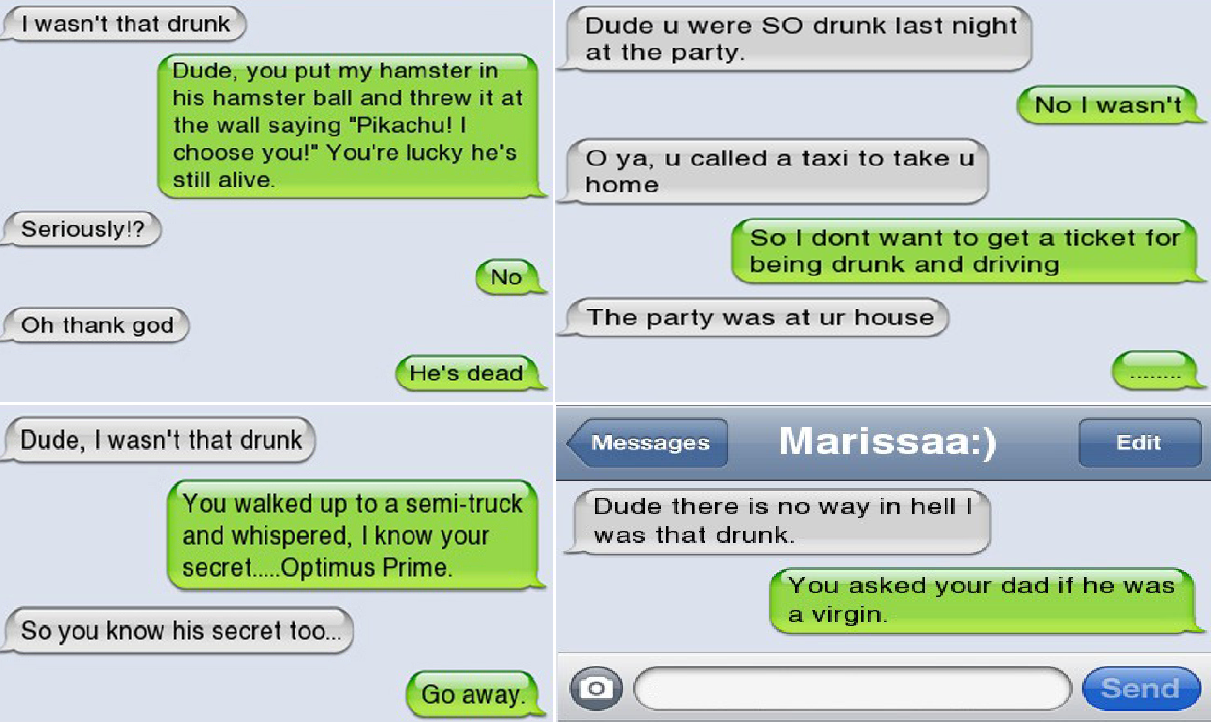 Best Drunk Texts You've Ever Read