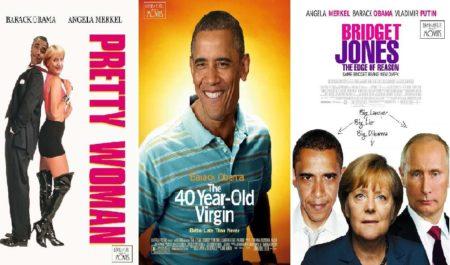 Obama Merkel Putin Famous Movies