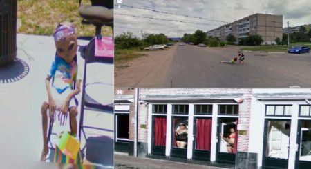 Hilarious Images Caught On Google Maps Street View
