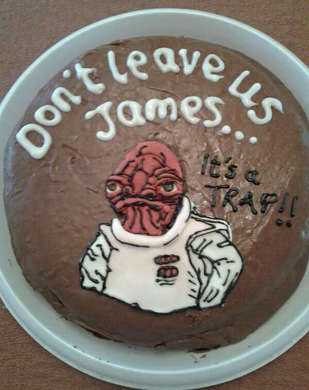 hilarious farewell cakes 2