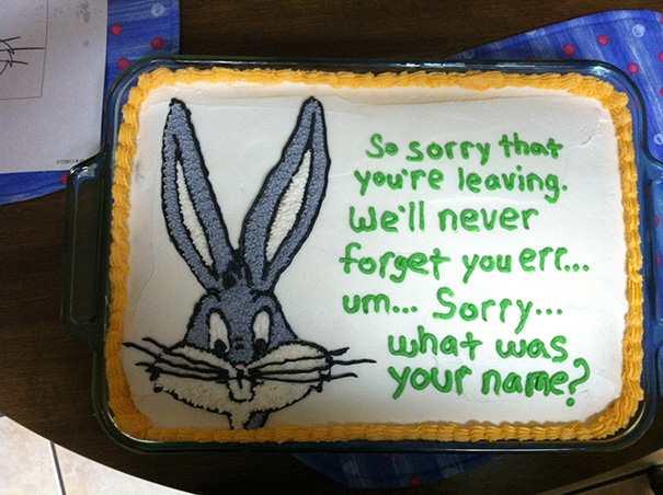 hilarious farewell cakes 3
