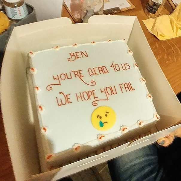 hilarious farewell cakes 4