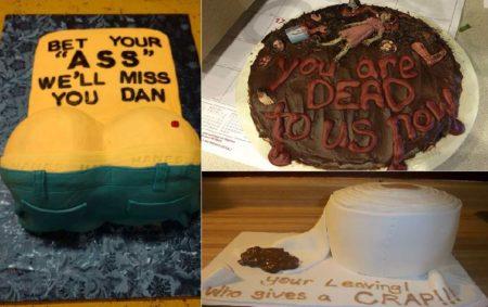 Hilarious Farewell Cakes