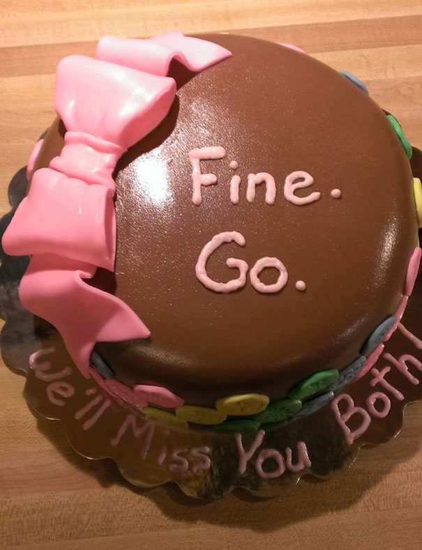 hilarious farewell cakes 5