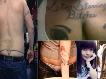 hilarious tattoo fails