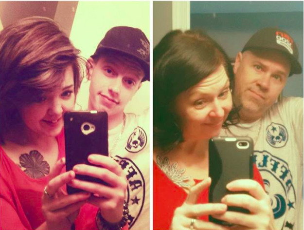 parents make fun with their kids selfies 7