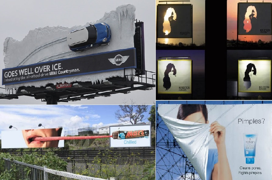 unique and creative billboards