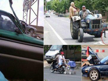 crazy drivers