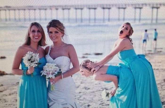 Women Outshine Bride 1