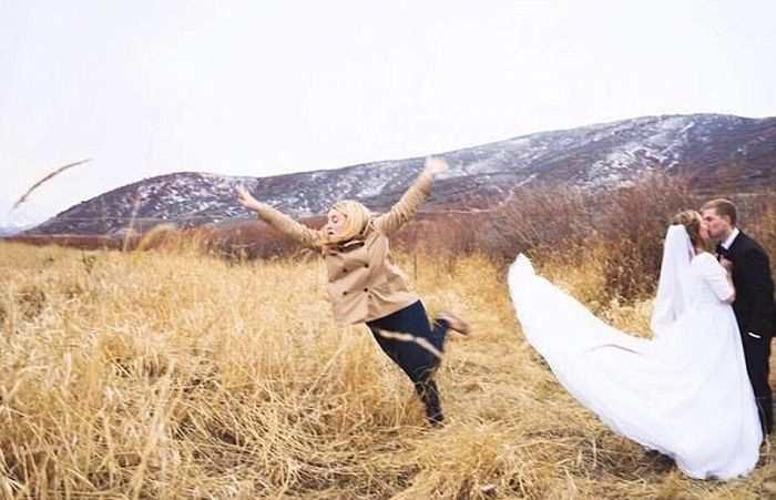 Women Outshine Bride 12
