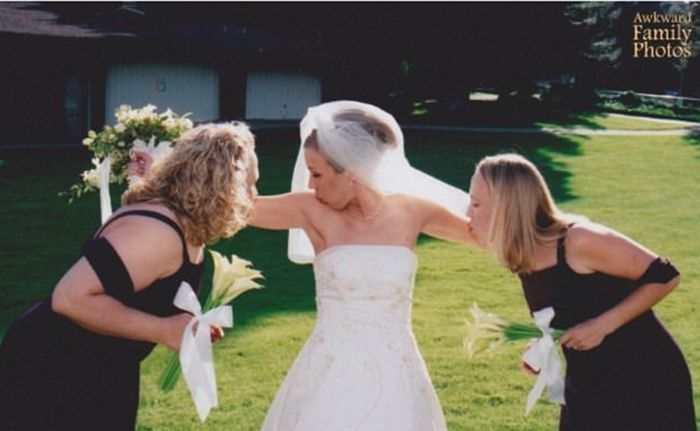 Women Outshine Bride 14