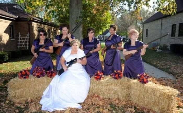 Women Outshine Bride 6