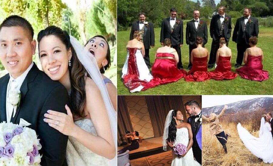 women outshine bride