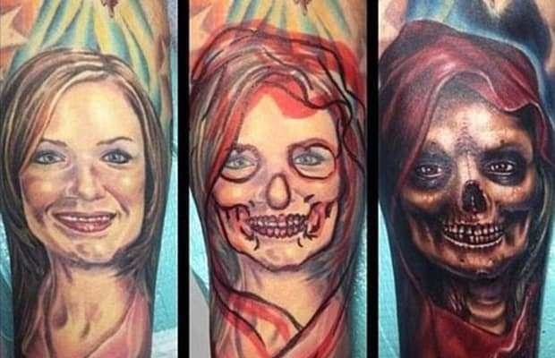 Exes Tattoo Coverups 11