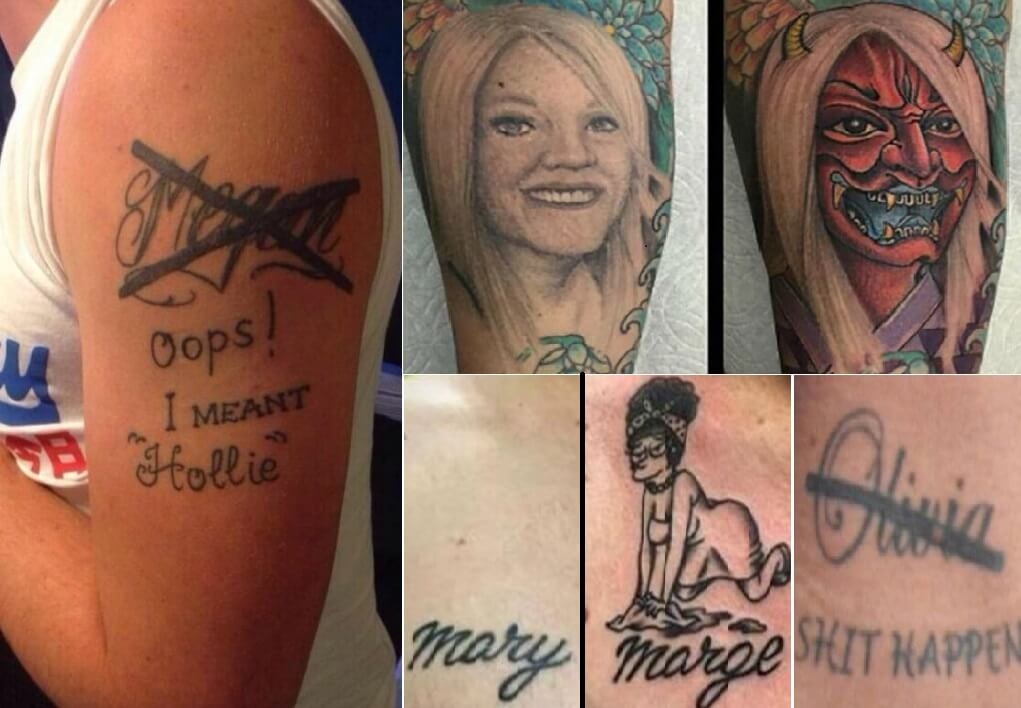 Exes Tattoo Coverups