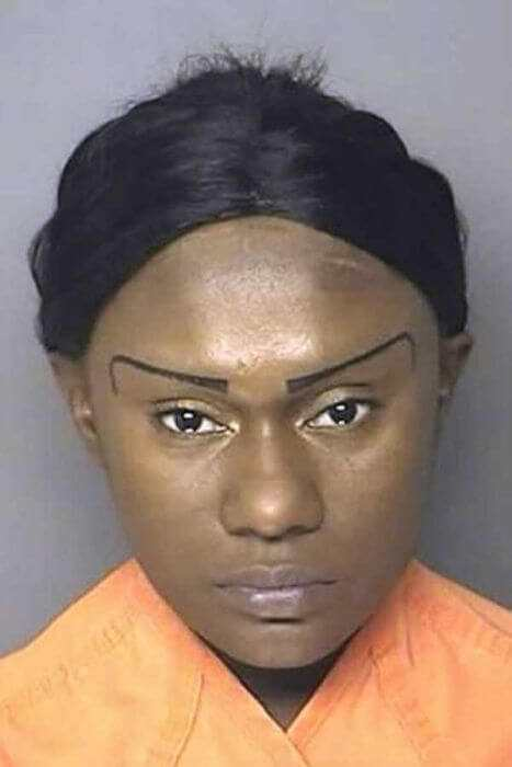 Horrendous Mugshot Hairdos 10