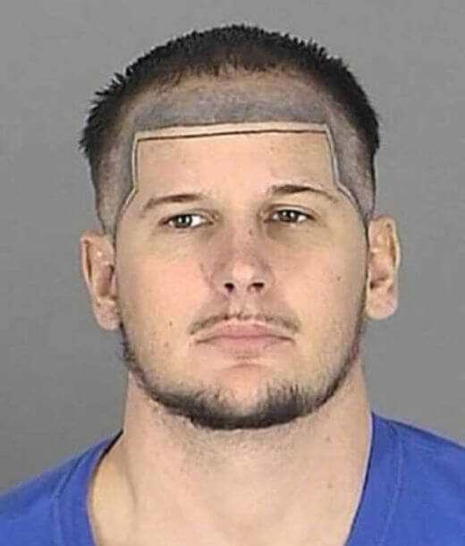 Horrendous Mugshot Hairdos 2