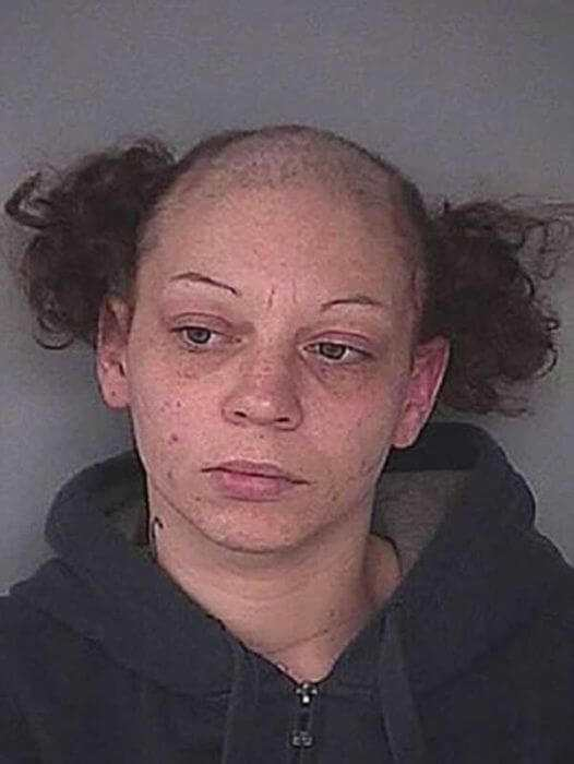 Horrendous Mugshot Hairdos 5