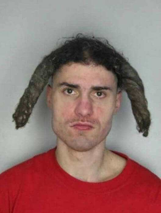 Horrendous Mugshot Hairdos 7