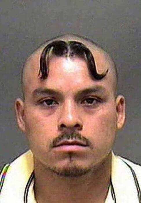 Horrendous Mugshot Hairdos 9