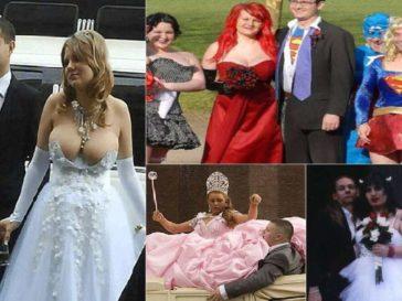 strange wedding dresses