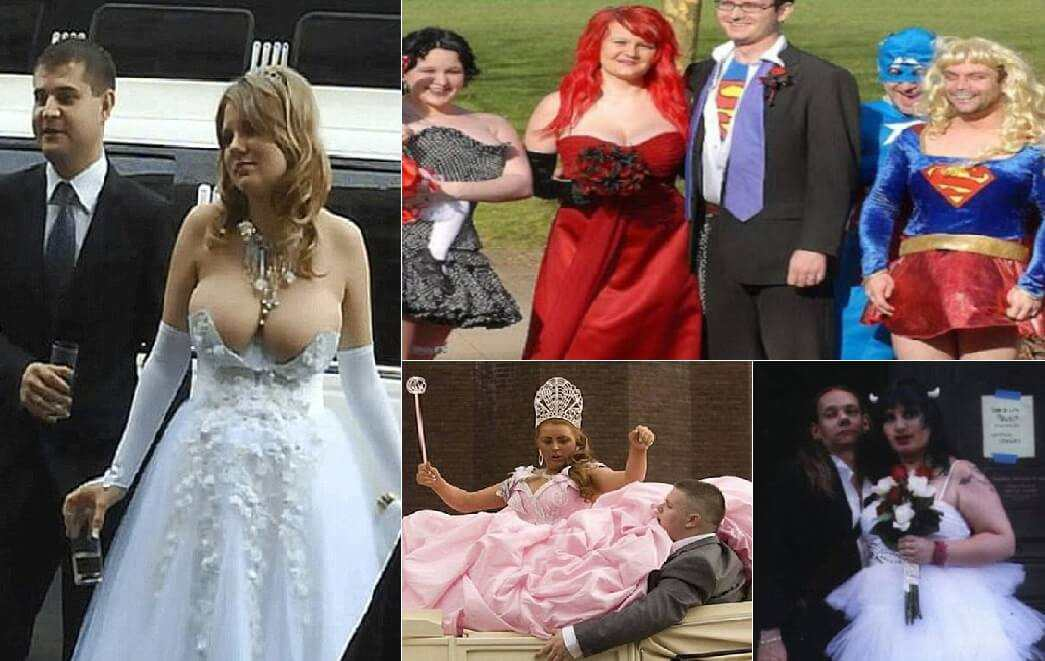 strange wedding dresses