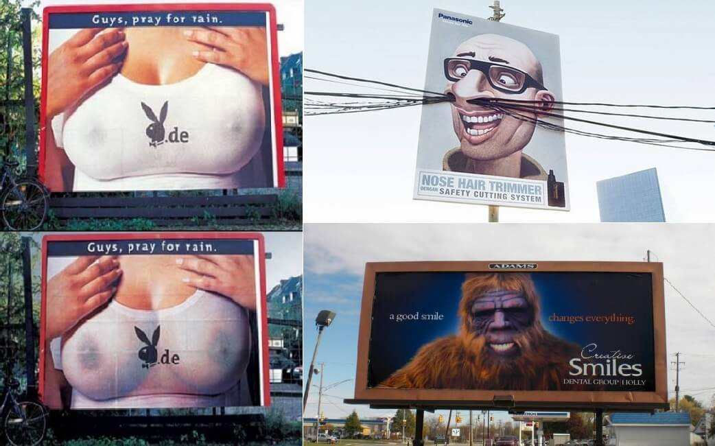 Creative Billboard Advertisements