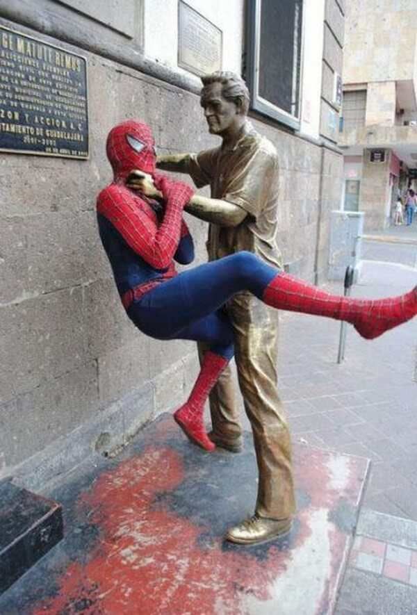 Creative With Statues 4