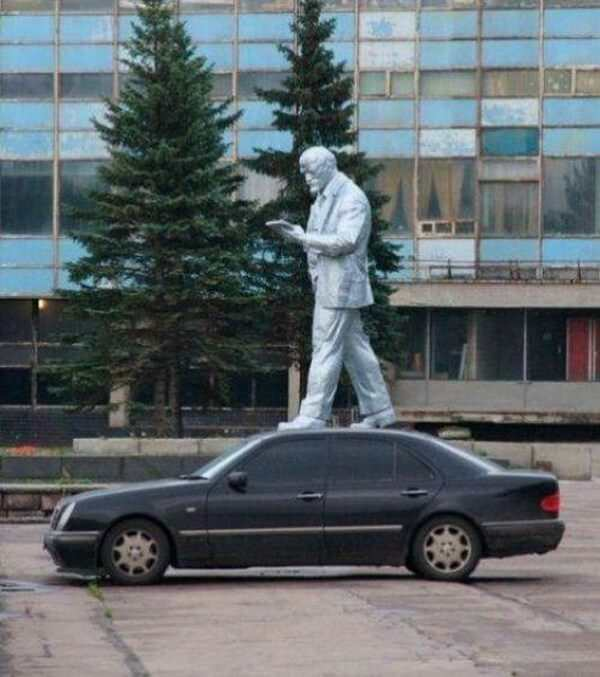 Creative With Statues 6
