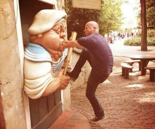 Creative With Statues 8